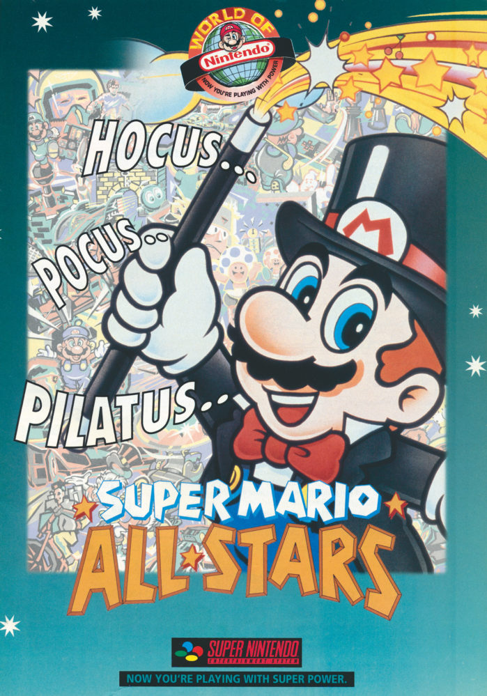 Super Mario All Stars advertentie - oktober-november 1993