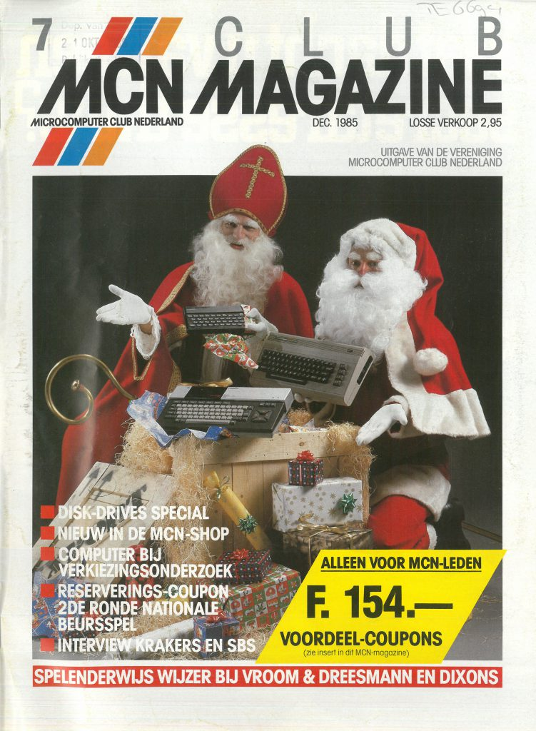Cover MCN Magazine december 1985